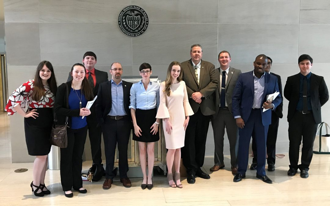 Business students present at Federal Reserve Bank of Dallas' Economic Scholars Program Conference